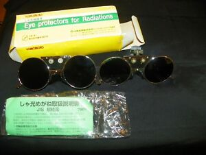 Yamamoto Eye Protectors For Radiations Hard Hat Clip On Glasses Welding Uv Nsl 7