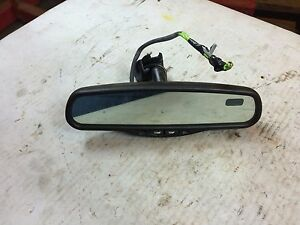 Silverado Tahoe Suburban Oem Temp Temperature Compass Rearview Rear View Mirror