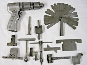 Thor 3 8 Pneumatic Air Drill Power Tool Vintage Tools Parts Keller Kent Moore