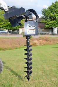 Bobcat Skid Steer Attachment Lowe 750 Classic Hex Auger 9 Bit Ship 199