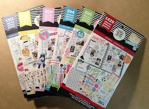 Set Of The 6 New Me My Big Ideas Sticker Books Squad Quotes Boxes Sports