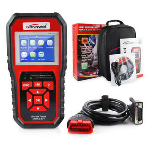 Kw850 Obdii Obd2 Eobd Car Automotive Engine Fault Code Reader Diagnostic Scanner