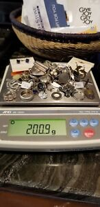 Sterling Silver Mixed Scrap New Lot 925 200 Grams 10