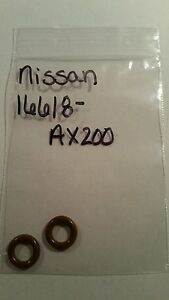 Lot Of 6 Oem Nissan Infiniti Injector O Rings 16618 Ax200 New Free Shipping