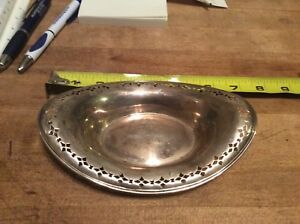Tiffany Co Sterling Silver Candy Dish