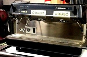 Light Use Nice Condition Nuova Simonelli Aurelia S 2gr Espresso Machine Silver