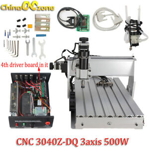 Cnc 3040z dq 3 axis Router 500w Engraving Mach 3 Usb Cutting Machine 110v 220v
