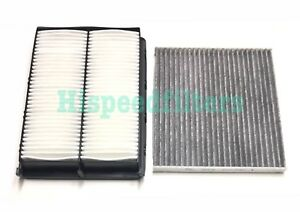 Engine Carbonized Cabin Air Filter For 2017 2018 Hyundai Santa Fe Sport