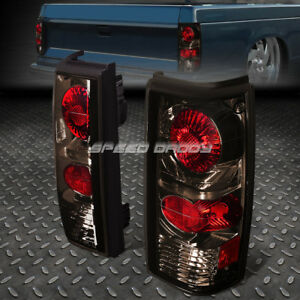 For 1983 1994 Chevy Blazer Gmc Jimmy Smoked Altezza Euro Tail Lights Brake Lamp