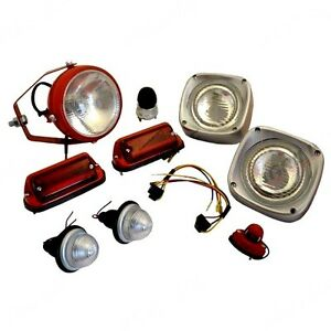 Lighting Kit Fits Massey Ferguson 135 148 165 168 175 178 185 188 Tractors