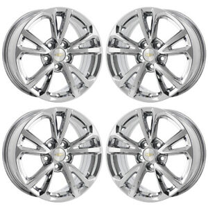 17 Chevrolet Equinox Pvd Chrome Wheels Rims Factory Oem Set 5756 Exchange