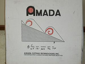 4 New Amada 16 8 X 1 1 4 X 042 Bi Metal Bandsaw Band Saw Blades