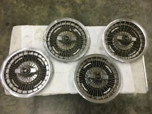1963 67 Riviera 15 Wire Hubcap Wheel Covers Spinners Set Of 4 Free Shipping