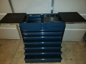 Brand New Snap On Tool Chest Rolling Tool Cart With Sliding Top Bin Doors