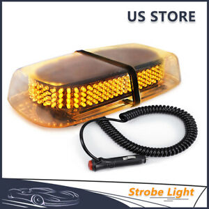 240 Led Car Truck Roof Top Emergency Hazard Warning Flash Strobe Light Amber 12v