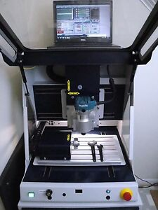 Techno Isel Cnc 4 Axis Milling Engraver Machine Mach 3 Software