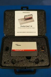 New Mahr Pocket Surf Iv surface Finish roughness tester profilometer Warranty