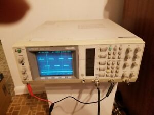 Philips Pm3335 Digital Storage Oscilloscope With Probe