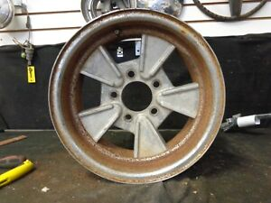 Fenton Hawk Vintage Retro Hotrod Mag Wheel 14x6 Patina As Found