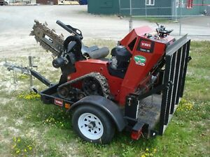 Toro Trx 16 Trencher Track 6 x30 Low 120 Hours Excellent