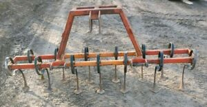 Heavy Duty Spring All Purpose 3pt Cultivator Can Ship
