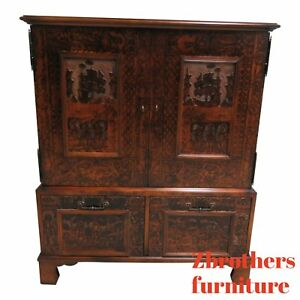 Hickory Chair Thomas Obrien Collection Tv Amoire Entertainment Cabinet