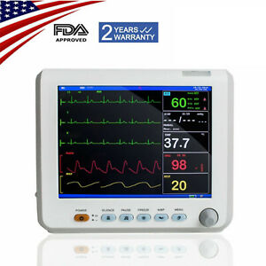 Us Portable Vital Signs Patient Monitor 6 parameters Hospital Icu Ccu Monitor Ce