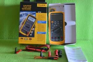 Fluke 87v Industrial True Rms Multimeter With Temperature Brand New In The Box