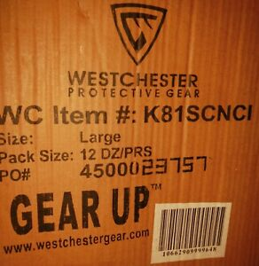 Westchester K81scnci Protective Gear Large Gloves Qty 144