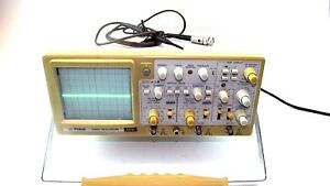 Protek 6510 Oscilloscope 100mhz 2 Channel With Probe Working Cndtn Guaranteed