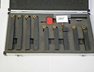 9 Pc 5 8 Indexable Carbide Turning Tool Set pt 5 8 new Pic 2865