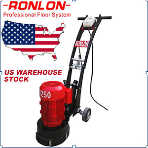 Concrete Floor Grinder polisher Machine Surface Preparation 10 3hp