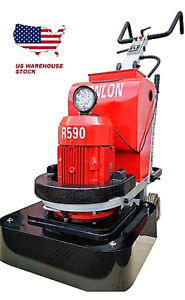 Concrete Floor Grinder polisher Machine Surface Preparation 24 10hp