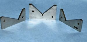 3 machinists Hardened Precision Angle Gage Blocks made By Usa Toolmaker vgc
