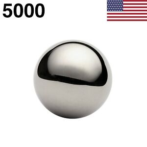 5000 1 4 Inch G100 Precision Carbon Steel Ball Bearings American Made