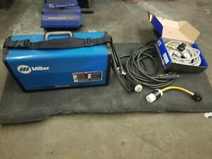Miller Dynasty 200 Welder W Accessories Gauges Power Adapter Etc