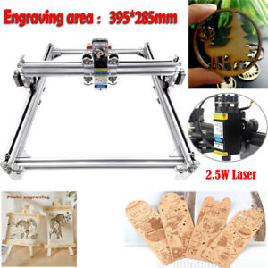 Mini Diy Cnc 3040 Router Kit 2 5w Laser Wood Carving Engraving Milling Machine