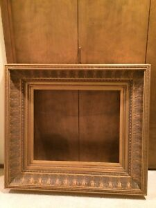 Vintage Style Large Ornate Wooden Gold Picture Frame 33 1 2 X 37 1 2