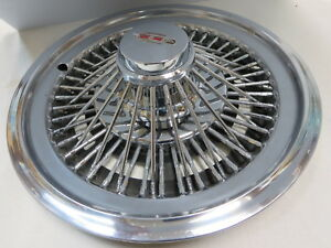 Nos 1972 1979 Oldsmobile Wire Wheel Cover Hubcap Oem Gm Omega Cutlass F 85