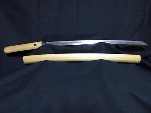 Very Old Genuine Japanese Samurai Sword Wakizashi Kanenaka Mid Edo Period