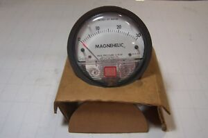 New Dwyer 2030 Magnehelic Pressure Gauge 15 Psig Max