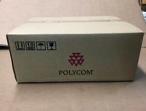 New Sealed Polycom 2201 24657 001 Hdx 4000 Sd Base W cables