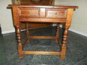 Leopold Stickley Original Authentic End Table Vintage Cherry Valley