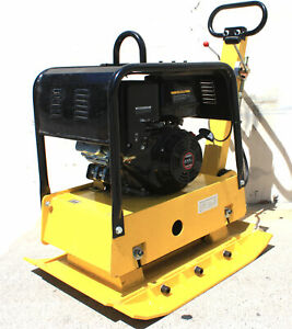 14hp Reversible Dirt Vibratory Plate Compactor 420cc Gas Engine 4 Dirt Soil