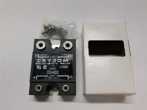 Crydom D2402 3 32v Control 240vac 2 5a Out Solid State Relay New In Box