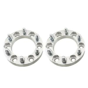 2pcs 1 Inch For Chevy Wheel Spacers Adapters 6x5 5 To 6x5 5 14x1 5 6 Lug Gmc
