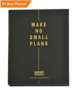 Achievers Planner Your Daily Organizer To Improve Time Management