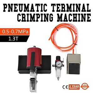 Am y10 Pneumatic Terminal Crimping Machine 1 3t Crimper Good Quality Updated