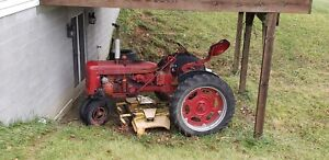 1953 Farmall Super C Tractor And Mower