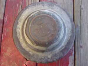 Early Brass Cadillac Threaded Hub Cap 5 Standard Of The World